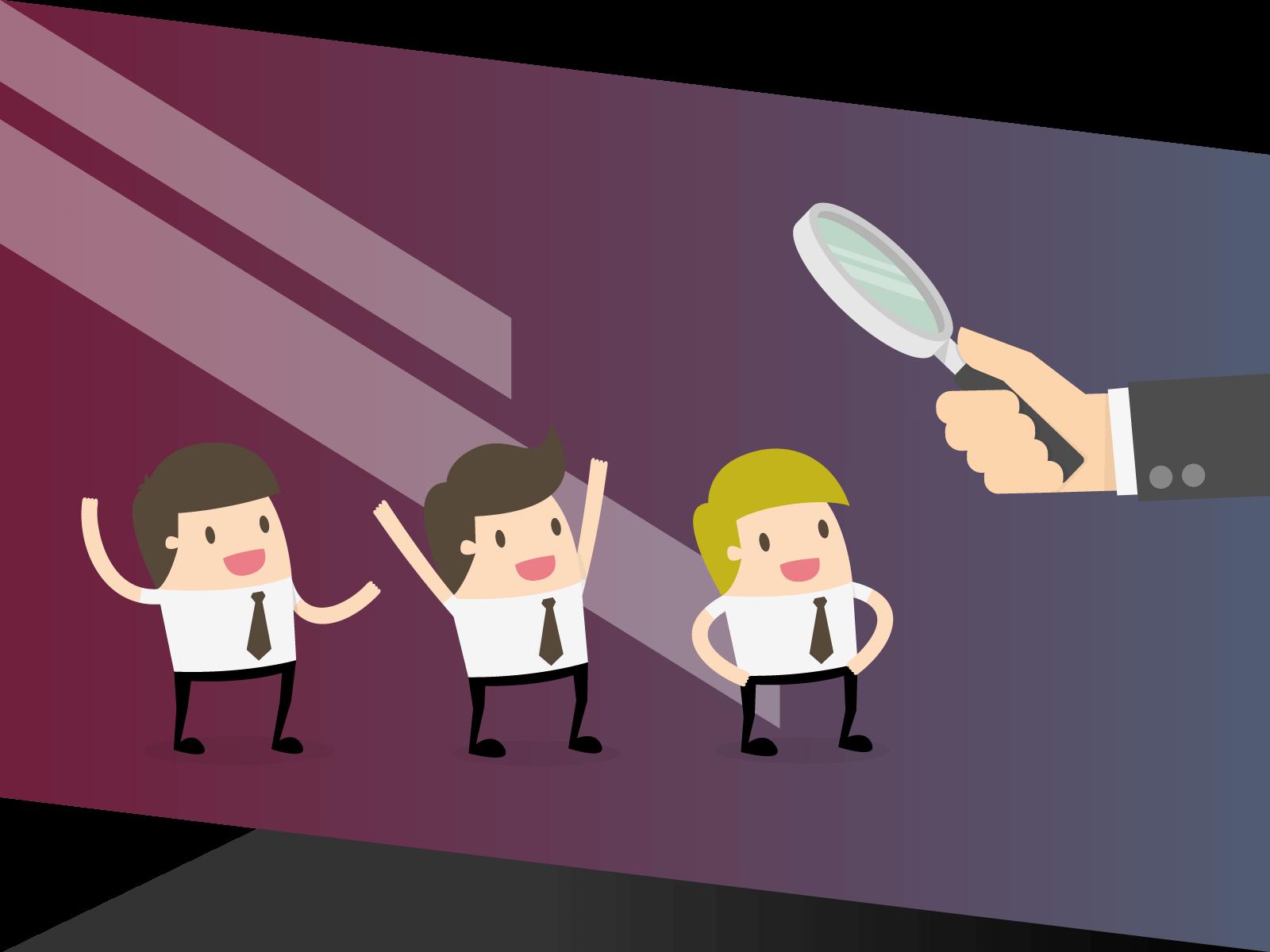 Detectar personal no especializado